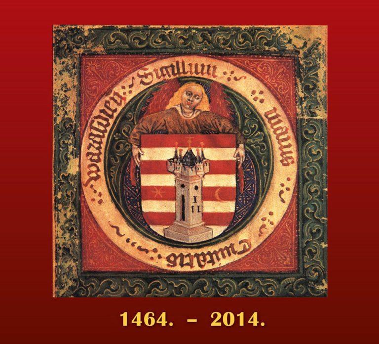 CD Cover - Varaždinska grbovnica 1464. - 2014.
