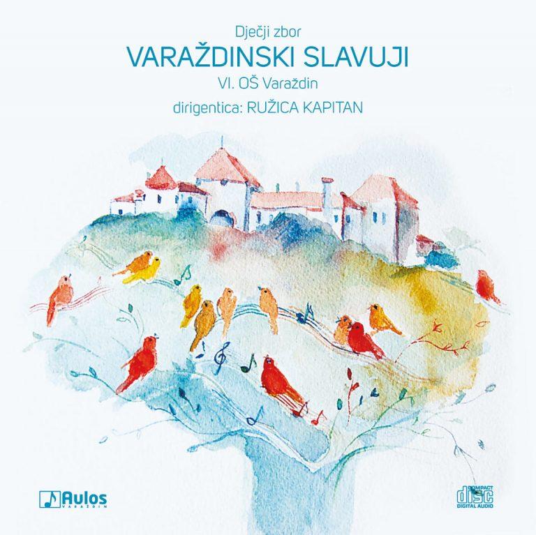CD Cover - Varaždinski slavuji
