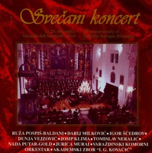 Svečani koncert uz 25. obljetnicu Varaždinskih baroknih večeri