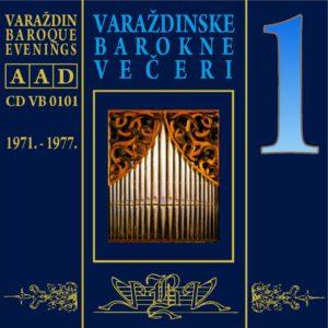 Varaždinske barokne večeri CD 1