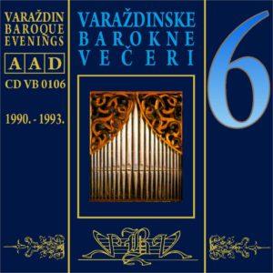 Varaždinske barokne večeri CD 6