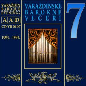 Varaždinske barokne večeri CD 7