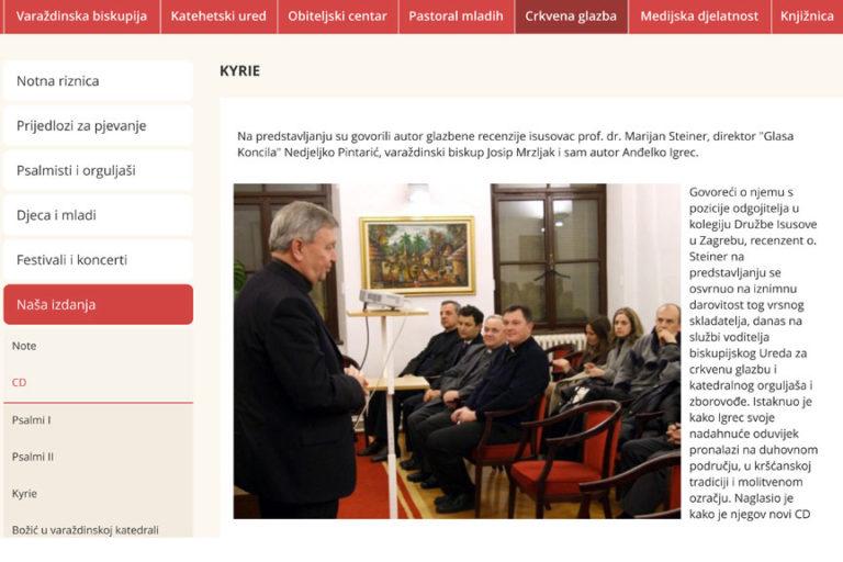 Varaždinska biskupija online
