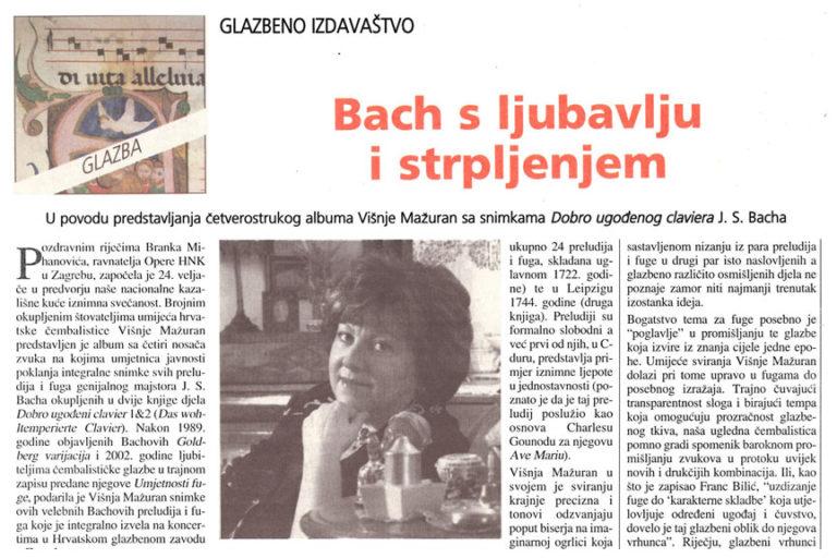 Hrvatsko slovo, 9.3.2007. str.19.