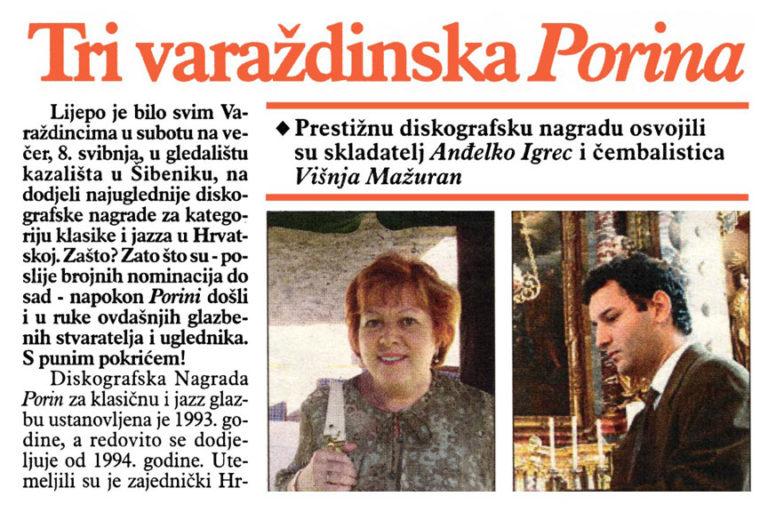 Varazdinske vijesti, 11.05.2010. str.15