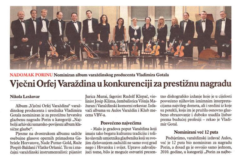 Varazdinske vijesti, 12.3.2013, str.27