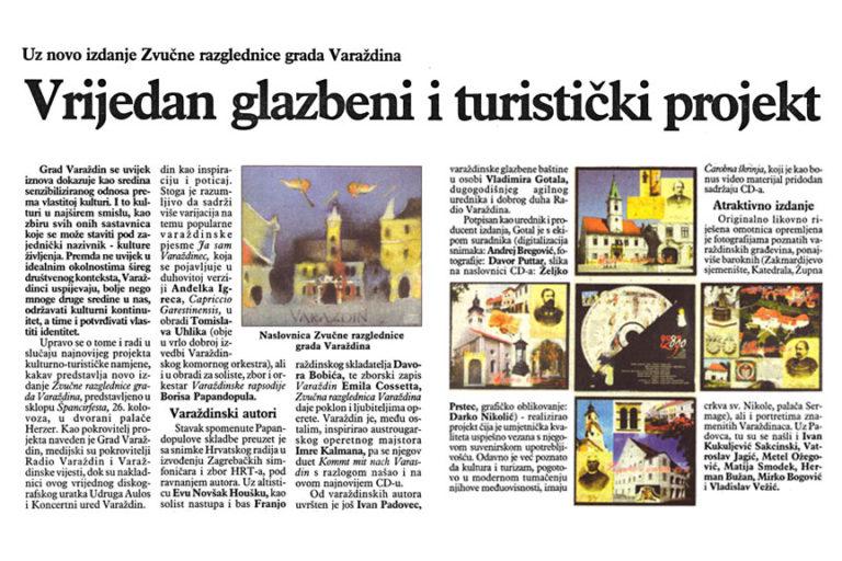 Varazdinske vijesti, 15.9.2009. str. 14