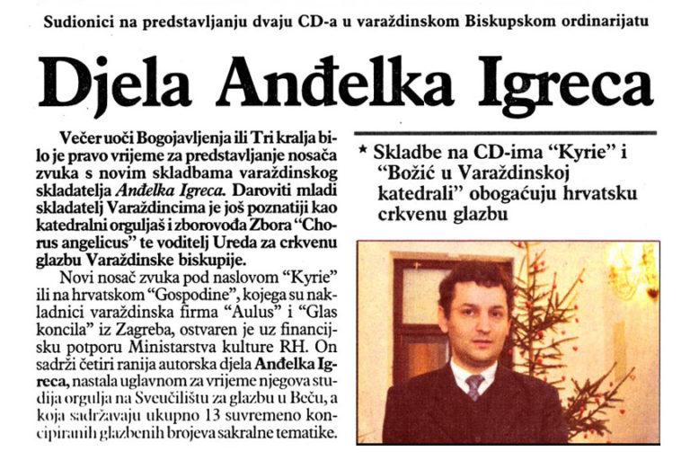 Varazdinske vijesti, 19.01.2010. str.15