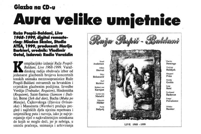 Varazdinske vijesti, 6.10.1999, str.32.
