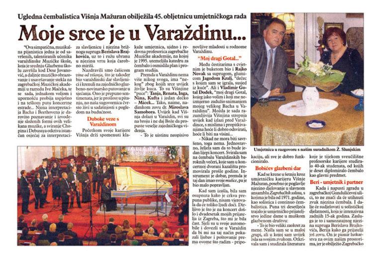 Varazdinske vijesti, 09.11.2010. str.16