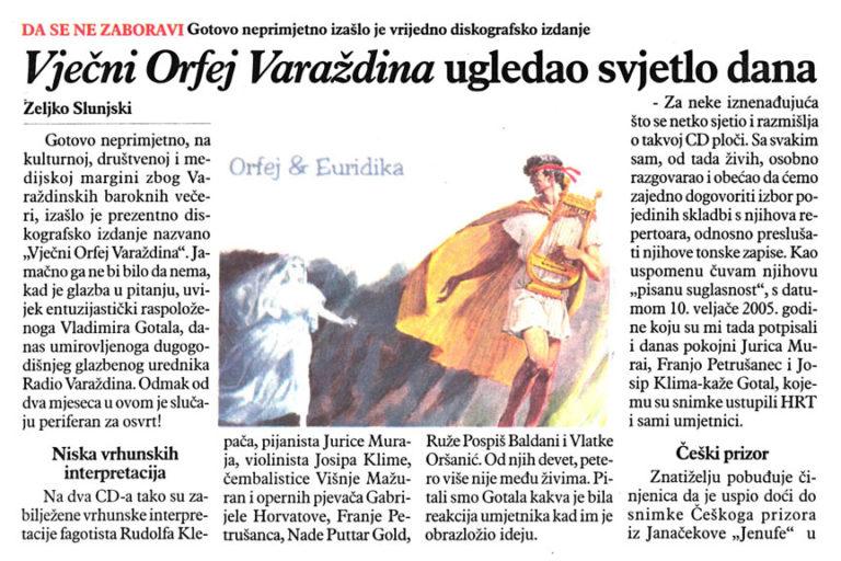 Varazdinske vijesti, 04.12.2012