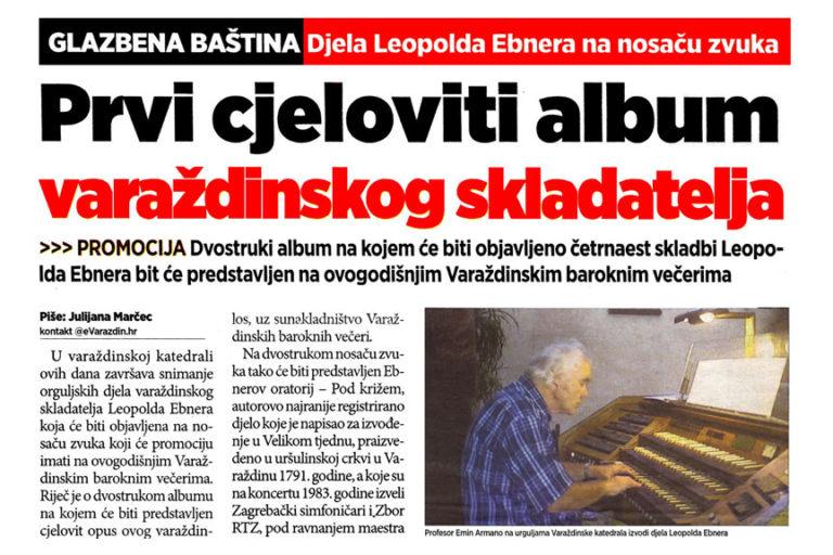 Varazdinski tjednik, 19.8.2013. str.14 - Leopold Ebner