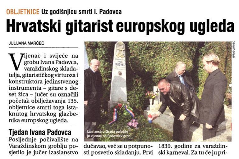 Vecernji list - Varazdin i Medjimurje, 5.11.2008, str.10.